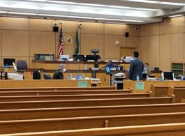 Closing Arguments today in the first jury trial to resume in Washington State, following shelter-in-place order